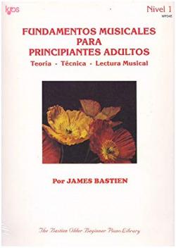FUNDAMENTOS MUSICALES PARA PRINCIPIANTES ADULTOS WP34E teoria, tecnica y lectura