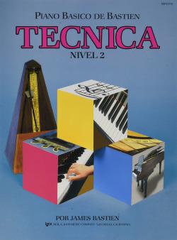 Técnica piano básico de bastien nivel 2