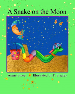 A snake on the moon
