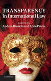 TRANSPARENCY IN INTER LAW HB