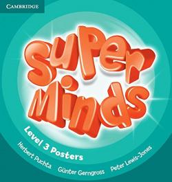 SUPER MINDS 3 POSTERS