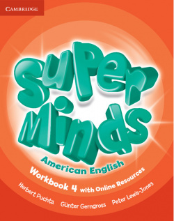 Super Minds American English Level 4 Workbook with Online Resourc