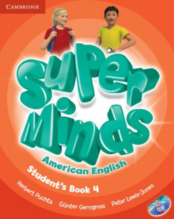 Super Minds American English Level 4 Student's Book with DVD-ROM