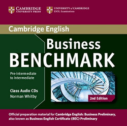 (AUDIO CD).BUSINESS BENCHMARK PRE-INTER.AND INTER.(AUDIO CD