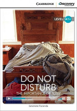 CDIR BEG DO NOT DISTURB: IMPORTANCE OF SLEEP BK/ONLINE