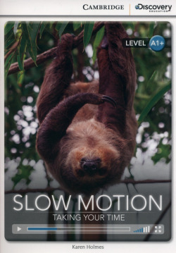 CDIR BEG SLOW MOTION: TAKING YOUR TIME BK/ONLINE