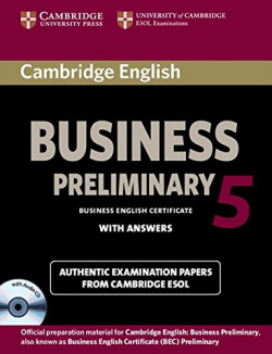 Cambridge English Business 5 Preliminary Self-study Pack (Student