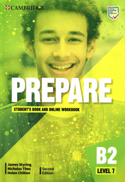 Prepare Second edition. Student's Book and Online workbook. Level 7