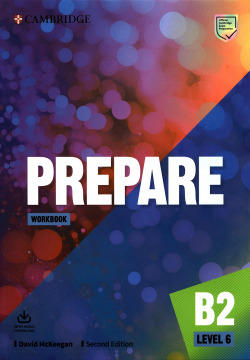 Prepare Second edition. Workbook with Audio Download. Level 6