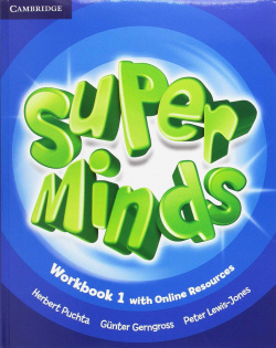 Super minds 1. Workbook+online resources