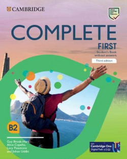 COMPLETE FIRST STUDENT`S BOOK WITHOUT ANSWERS WITH CD-ROM 3º ED