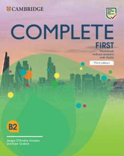 COMPLETE FIRST WORKBOOK WITHOUT ANSWERS WITH AUDIO 3º ED