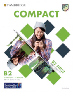 COMPACT FIRST STUDENT`S BOOK WITH ANSWERS 3º ED