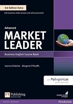 market leader advanced student´s book con dvd (3ed) con my english lab
