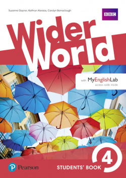 wider world 4 students' book with myenglishlab pack 2017