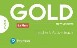 GOLD B2 FIRST NEW 2018 EDITION TEACHER´S ACTIVE TEACH USB