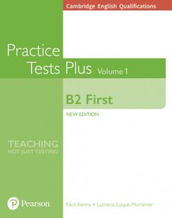 Cambridge English Qualifications: B2 First Volume 1 Practice Test