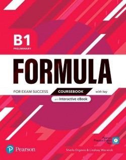 Formula B1 Preliminary Coursebook and Interactive eBook with key with Digital Resources