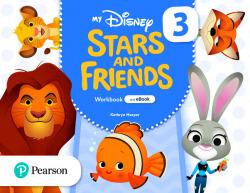 My Disney Stars and Friends 3 Workbook with eBook