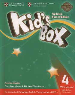 Kid's Box Level 4 Workbook with Online Resources American English