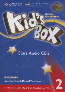 (CLASS CD).(21).KIDS BOX 2 (4CDS) 3ªED.