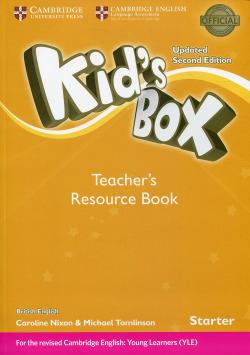 Kid's Box Starter Teacher's Resource Book with Online Audio Briti