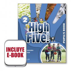 (17).HIGH FIVE! ENGLISH 2ºPRIM.(PUPILS +EBOOK PACK)