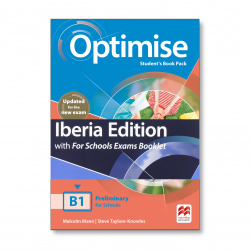 OPTIMISE B1 STUDENT'S BOOK EXAM BKLT PACK 2019