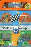 Magnetic garage, my.with 30 magnets