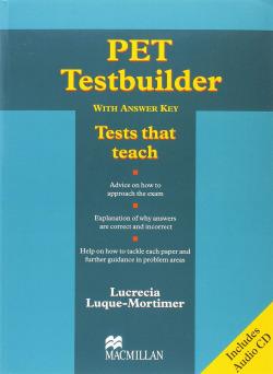 PET TESTBUILDER (+CD)/(+KEY)