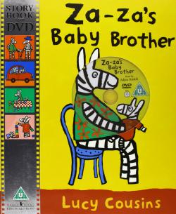 Za-Za's baby brother (+DVD)