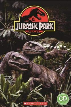 JURASSIC PARK BOOK Y CD