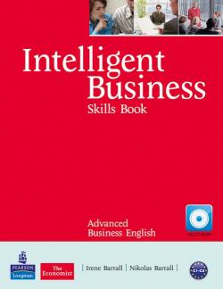 Intelligent Business Advanced Skills Book/CD-ROM Pack