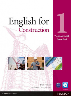 ENGLISH FOR CONSTRUCTION 1 +CD