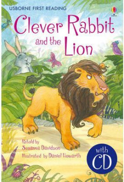 Clever rabbit and the lion +cd 5-8 years