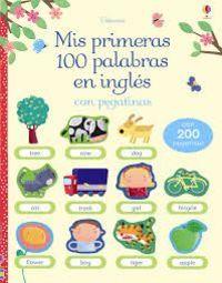 MIS PRIMERAS 100 PALABRAS INGLES PEGATinas
