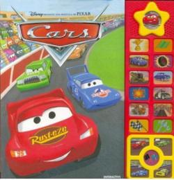 Cars. librojuego 15 botones electrico