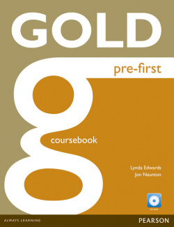 (13).GOLD PRE-FIRST COURSEBOOK AND CD-ROM PACK