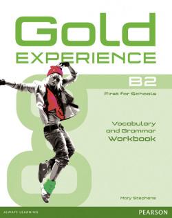Gold experience B2 workbook (-key). Grammar vocabulary