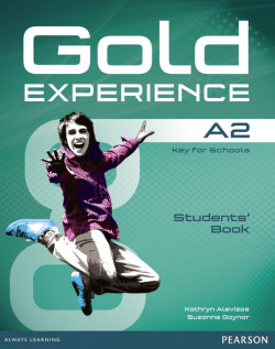 Gold experience A2 students +dvd