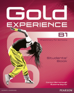 Gold experience B1 students +dvd