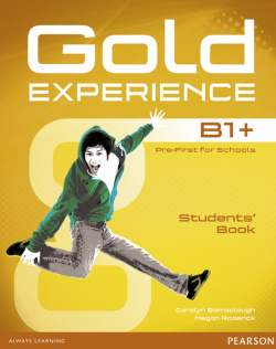 Gold experience B1+ student +dvd