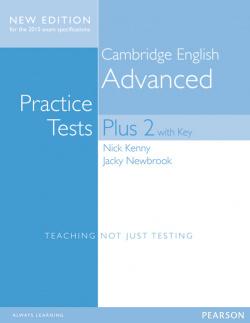 Cambridge advanced practice tests plus +key