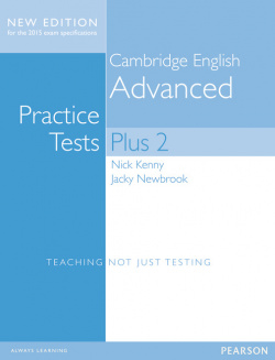 Cambridge Advanced Volume 2 Practice Tests Plus New Edition Students' Book without Key