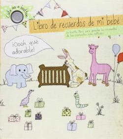 Libro recuerdos de mi bebé