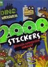 2000 STICKERS DINOSUPERDINOSAURIOS