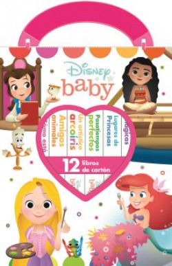 MI PRIMERA LIBRERIA DISNEY BABY PRINCESAS M1L
