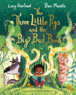 THE LITTLE PIGS AND THE BIG BAD BOOK