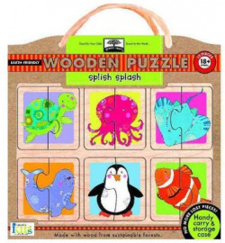 Splish splash: wooden puzzle