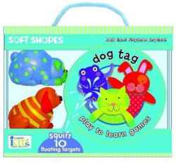 SOFT SHAPES.PLAY TO LEARN GAMES.DOG TAG